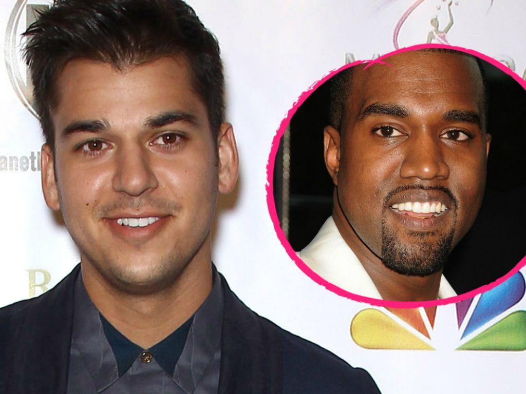 Kanye West und Robert Kardashian