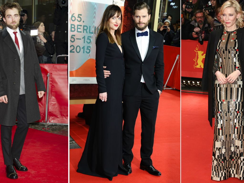 Dakota Johnson, Robert Pattinson, Jamie Dornan und Cate Blanchett
