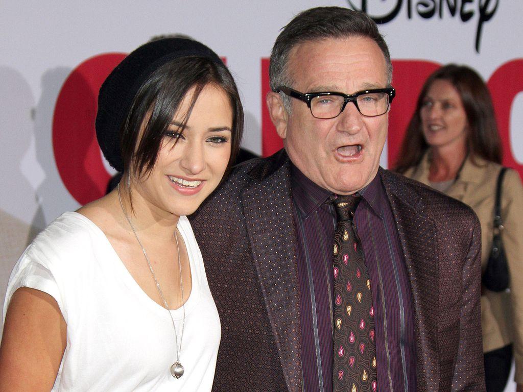 Robin Williams und Tochter Zelda