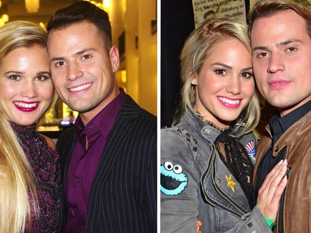 Rocco Stark mit seiner neuen Freundin Michelle und seiner Ex Angelina Heger