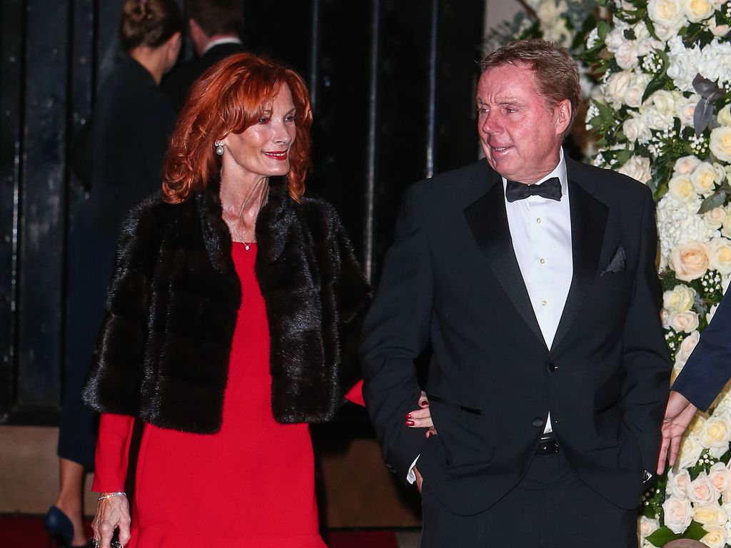 Sandra und Harry Redknapp in London