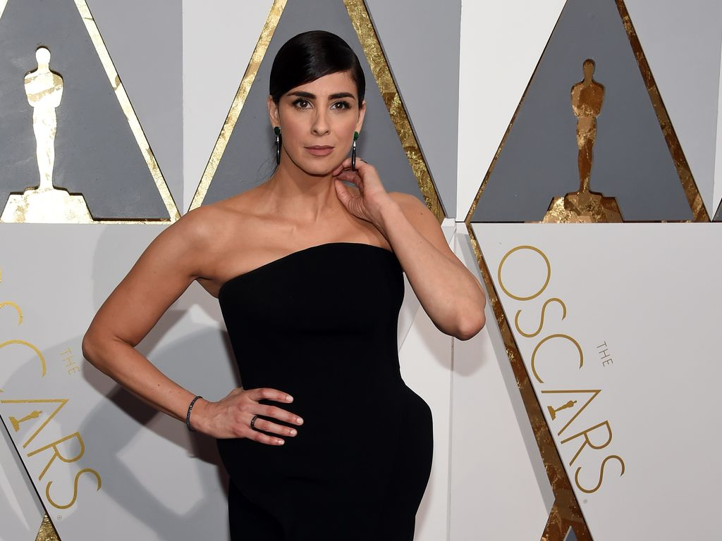 Sarah Silverman bei der Oscar-Verleihung in Hollywood