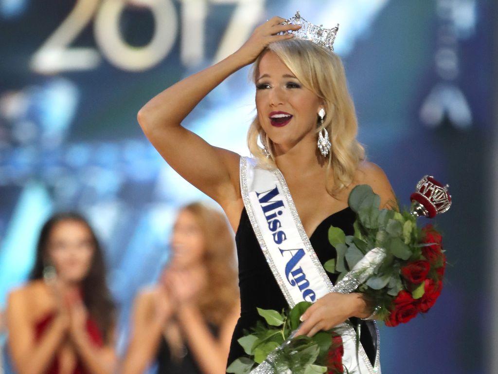 Savvy Shields bei der Miss-America-Wahl 2017
