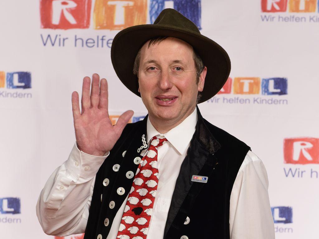 Schäfer Heinrich beim 19. RTL Spendenmarathon 2014
