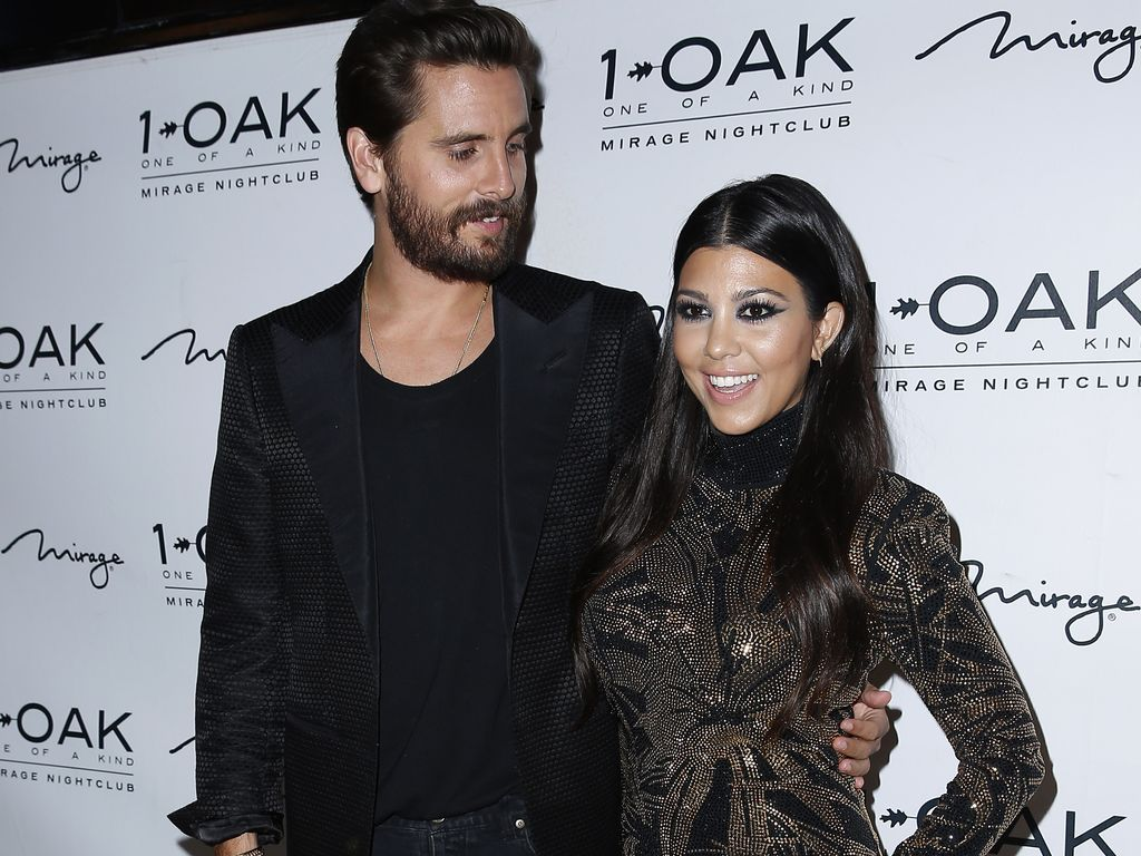 Scott Disick und Kourtney Kardashian im 1Oak
