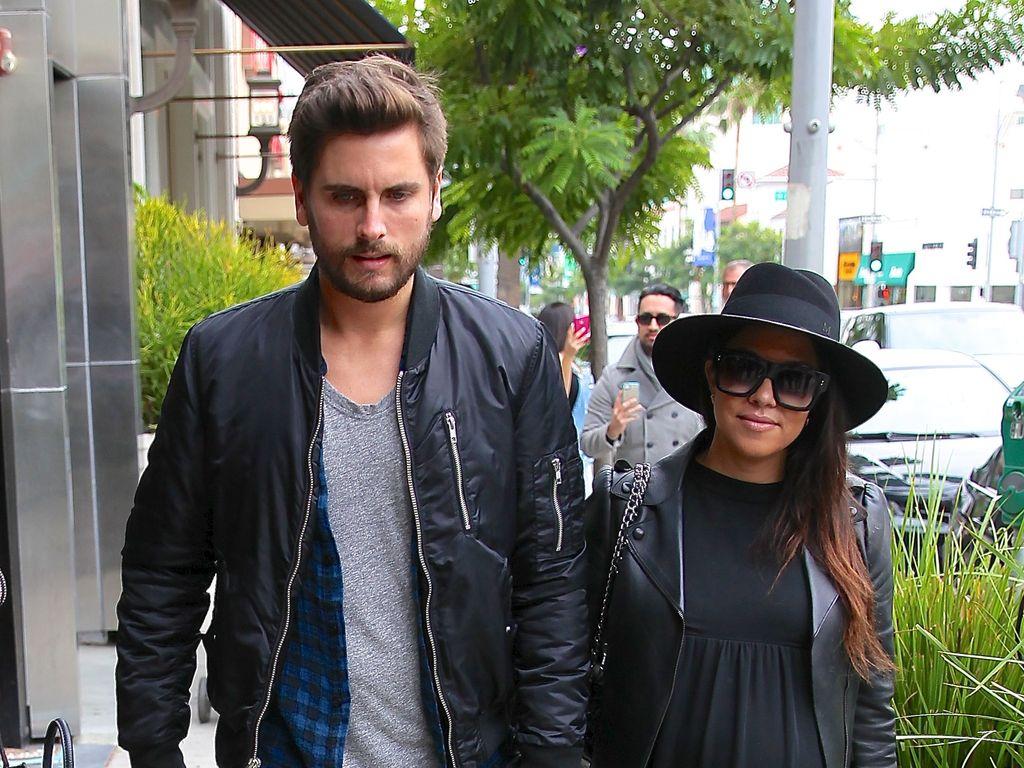 Kourtney Kardashian und Scott Disick