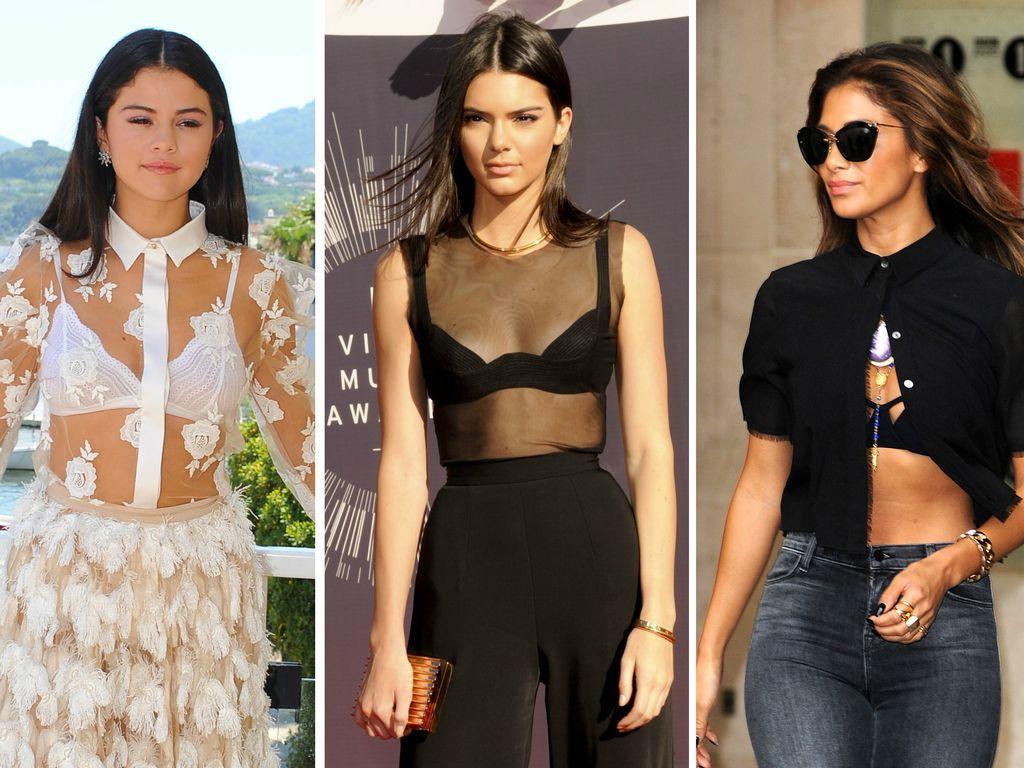 Selena Gomez, Kendall Jenner und Nicole Scherzinger
