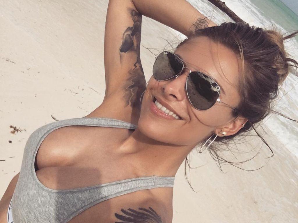 Sophia Thomalla vor ihrer Brustverkleinerung