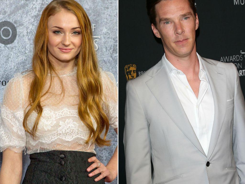 Benedict Cumberbatch und Sophie Turner
