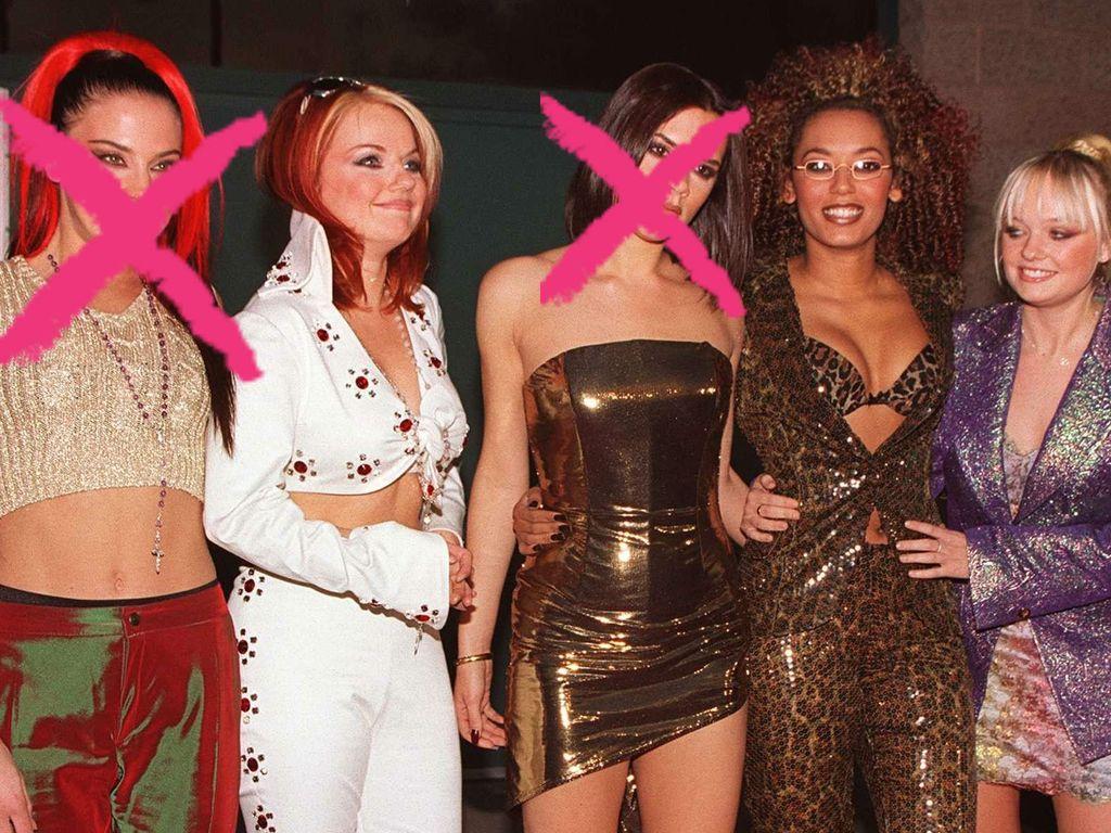 Die Spice Girls ohne Mel C und Victoria Beckham