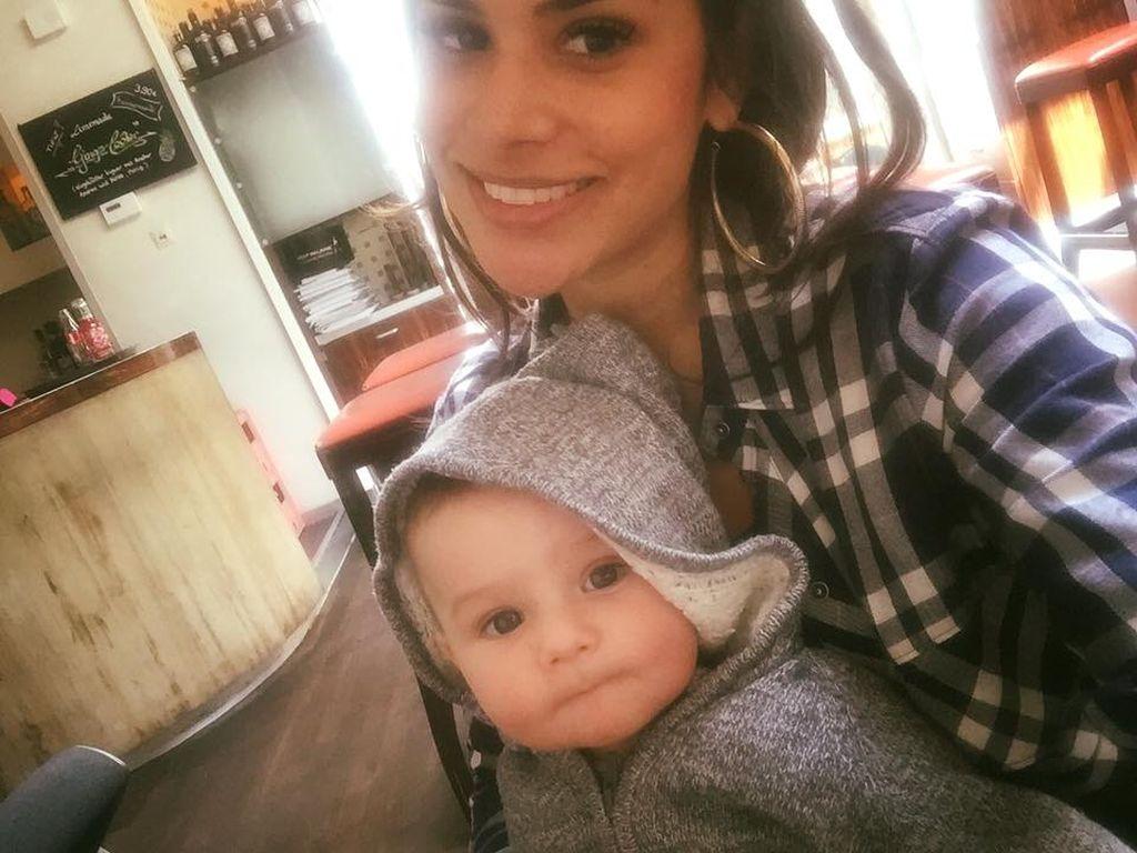 So glücklich: DSDS-Star Tanja Tischewitsch mit ihrem Sohn Ben