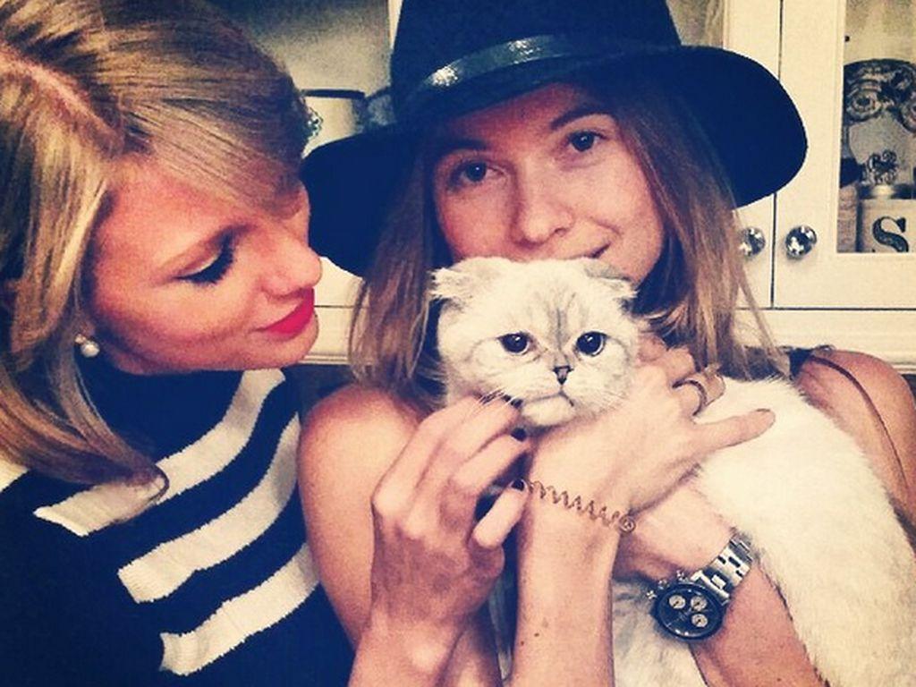 Taylor Swift und Behati Prinsloo