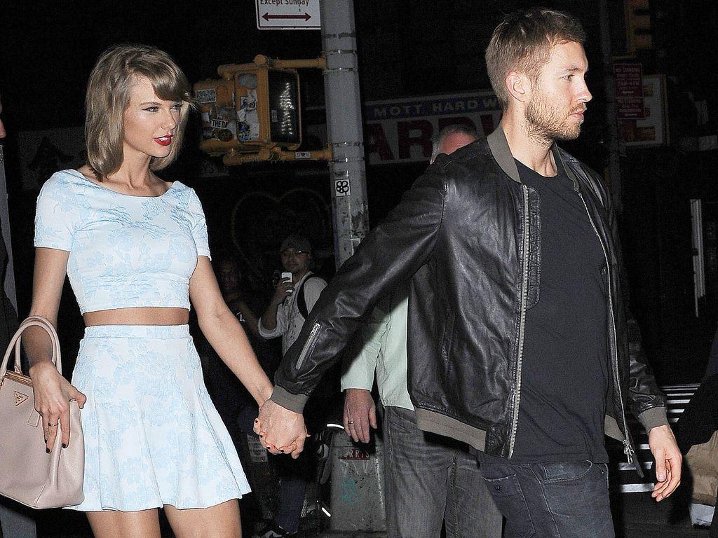 Taylor Swift und Freund Calvin Harris in NYC