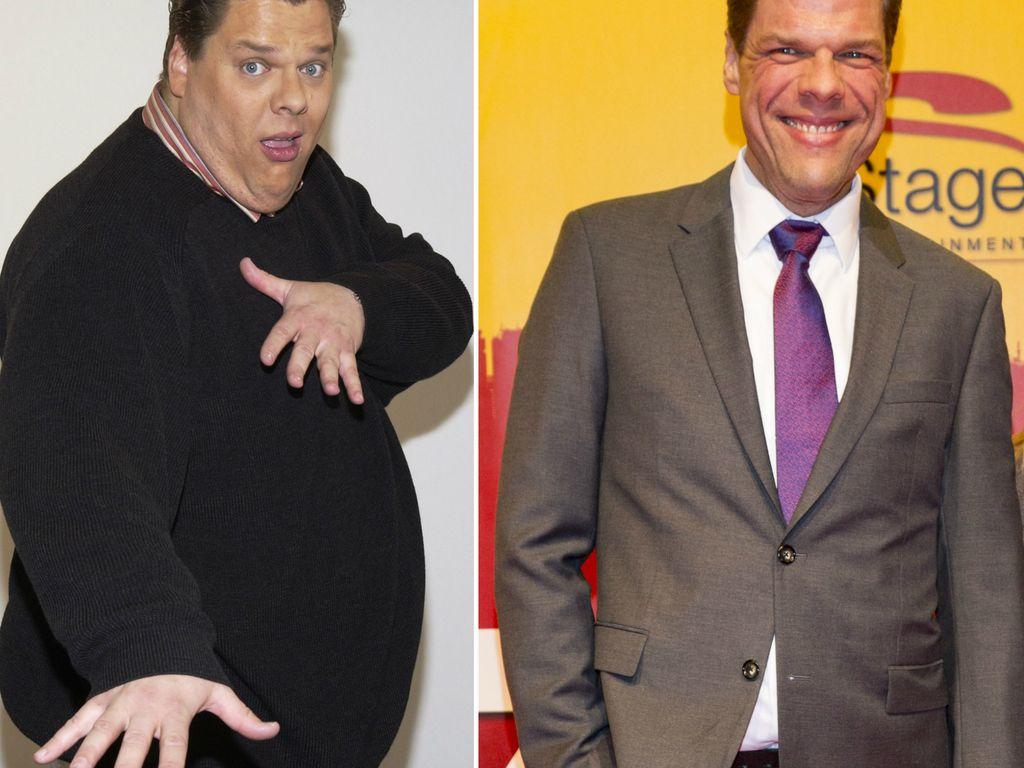 Tetje Mierendorf vor und nach seinem Gewichtsverlust