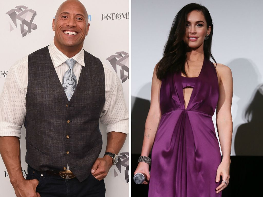 "Megan Fox und Dwayne ""The Rock"" Johnson"
