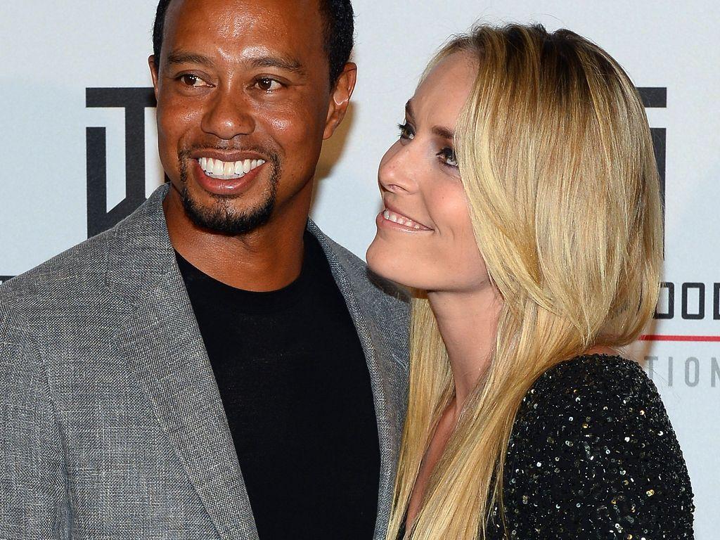 Tiger Woods und Lindsey Vonn 2015