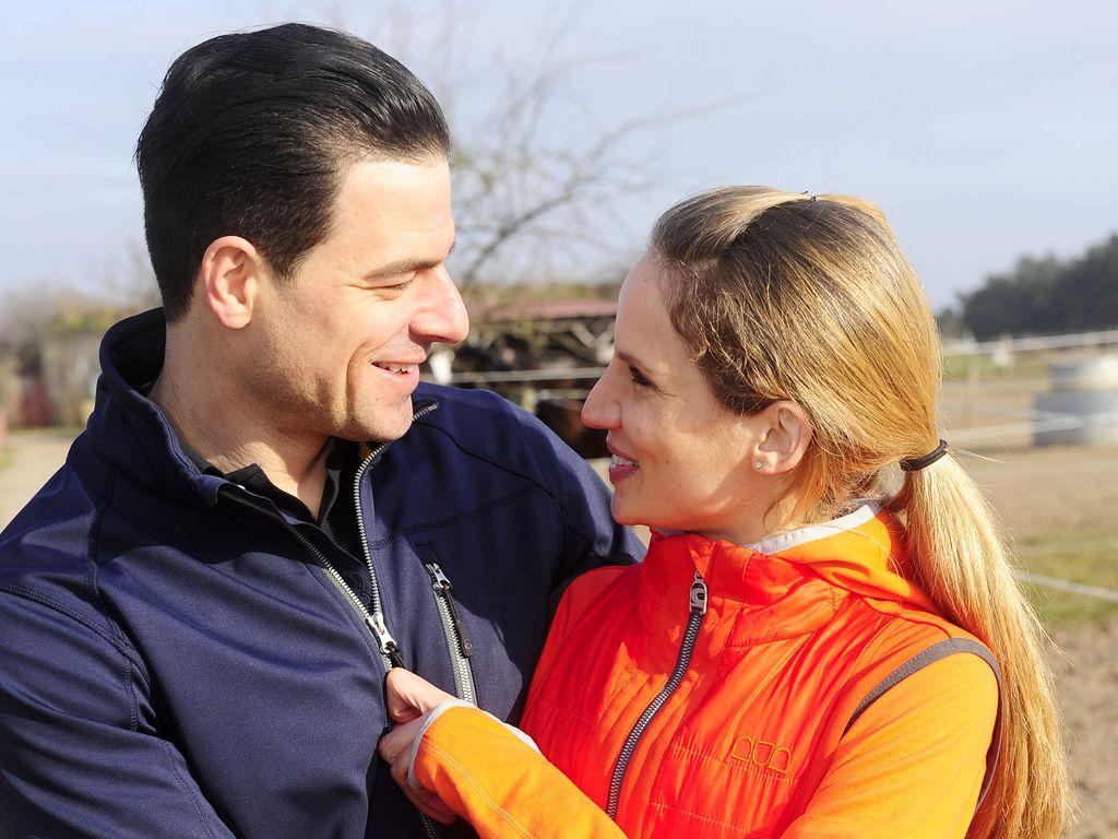 Tobias Licht und Nora Huetz