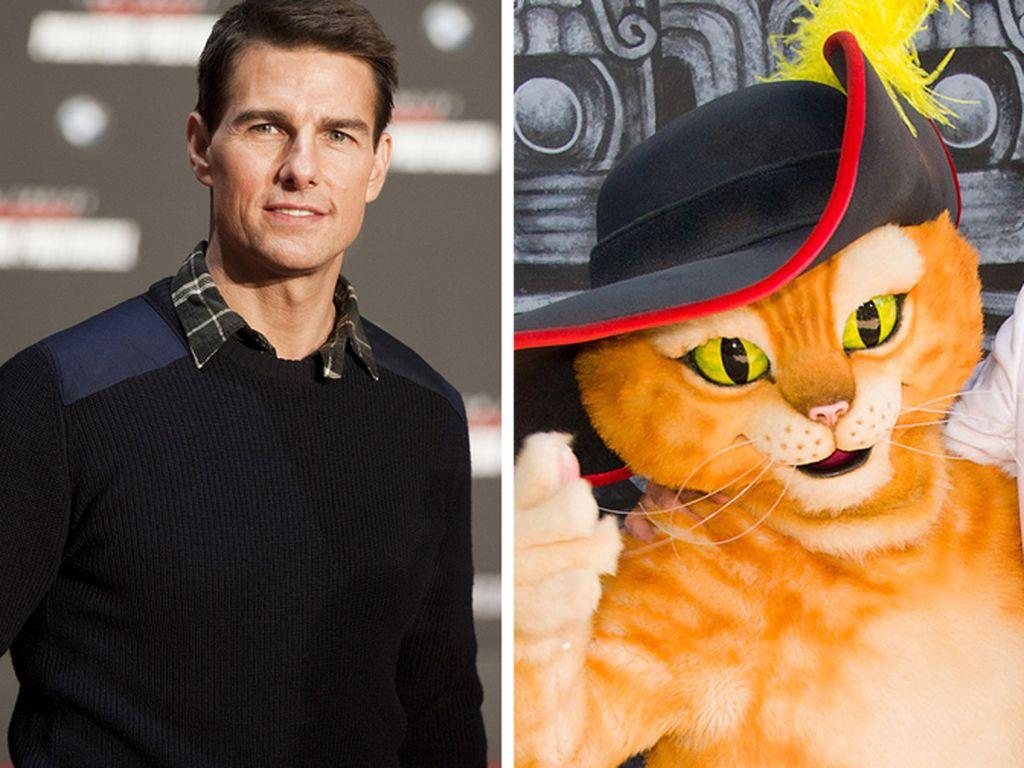 """Tom Cruise und """"Der gestiefelte Kater"""""""