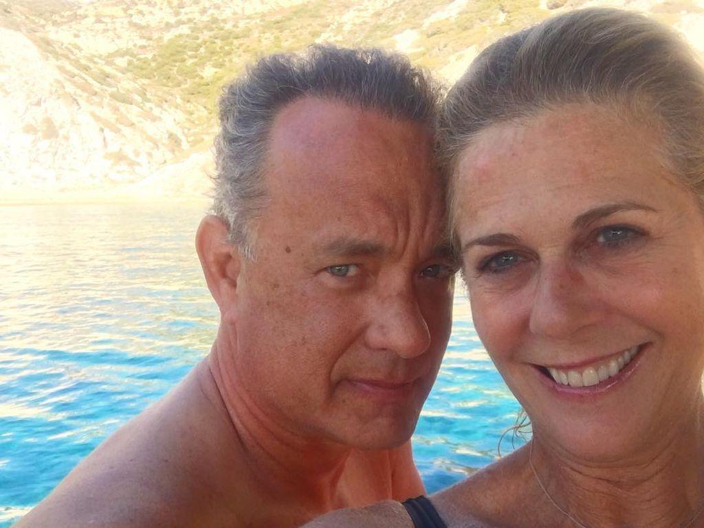 Tom Hanks mit seiner Frau Rita Wilson