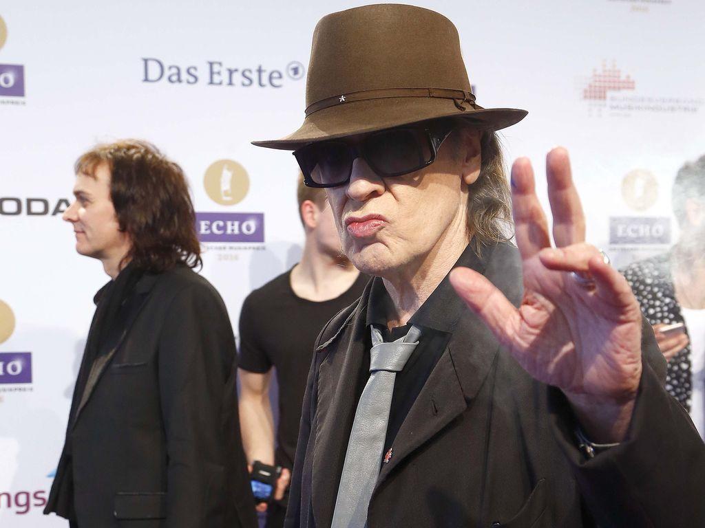 Udo Lindenberg beim ECHO Award 2016