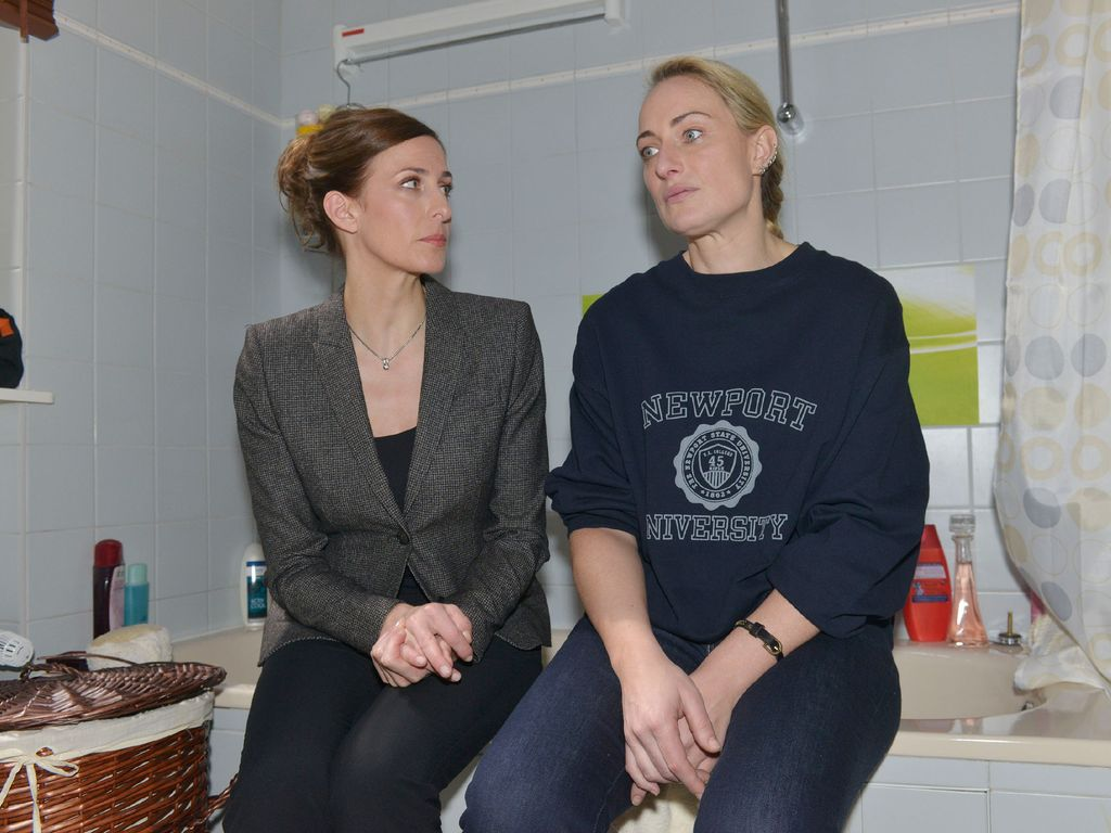 Eva Mona Rodekirchen und Ulrike Frank
