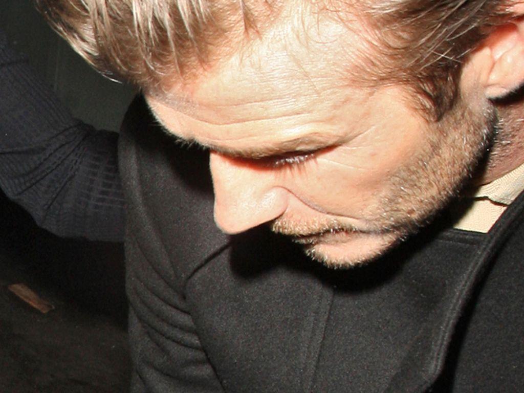 David Beckham Glatze