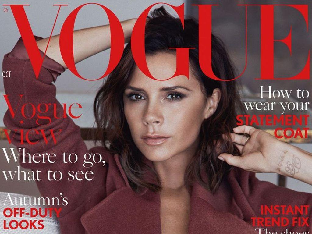 Victoria Beckham auf dem Cover der britischen Vogue