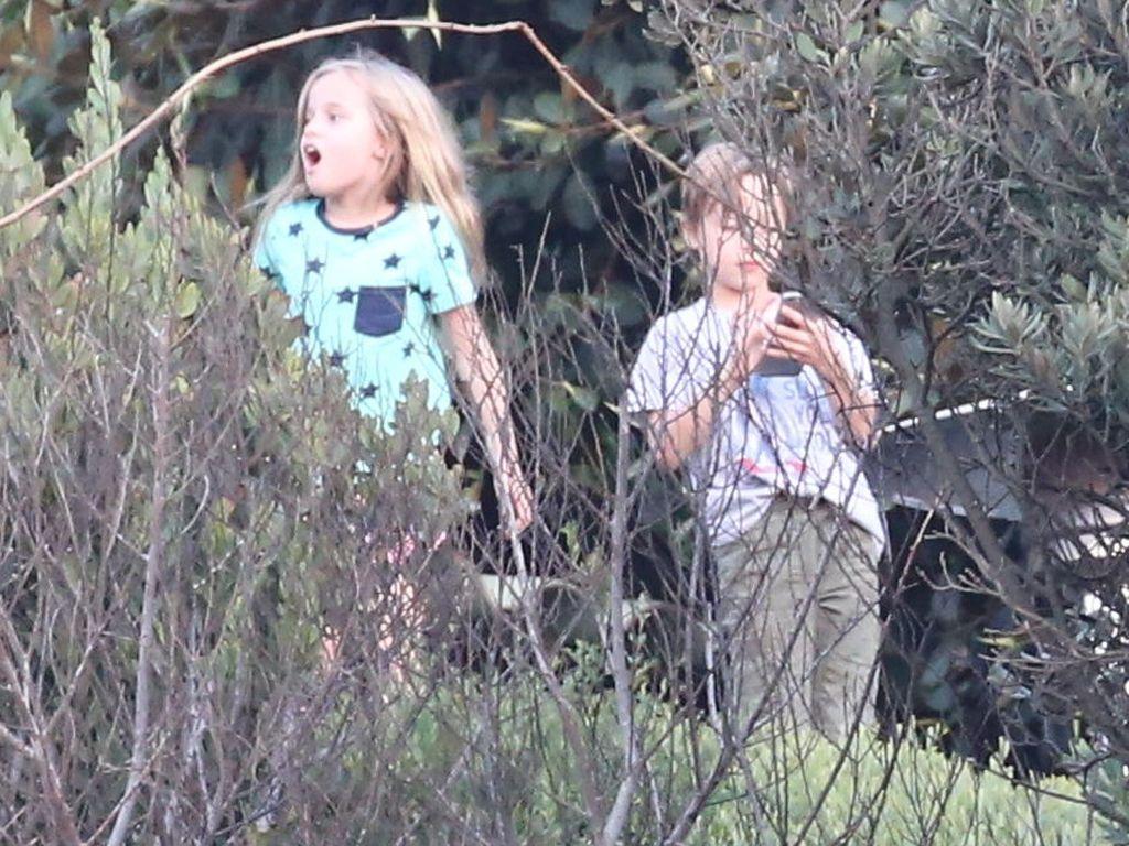 Vivienne und Knox Jolie-Pitt