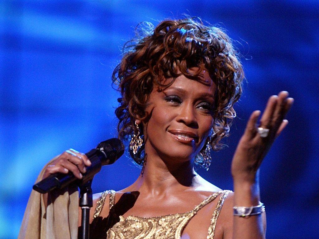 Whitney Houston bei einem Auftritt im Jahr 2004