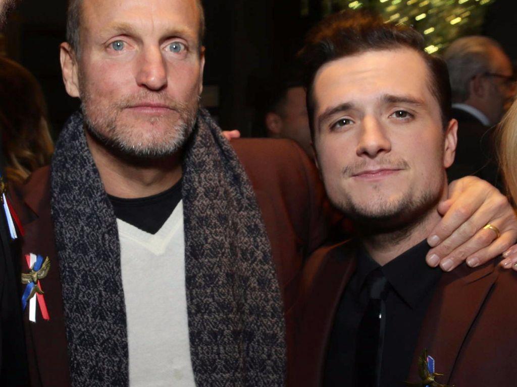 Josh Hutcherson und Woody Harrelson