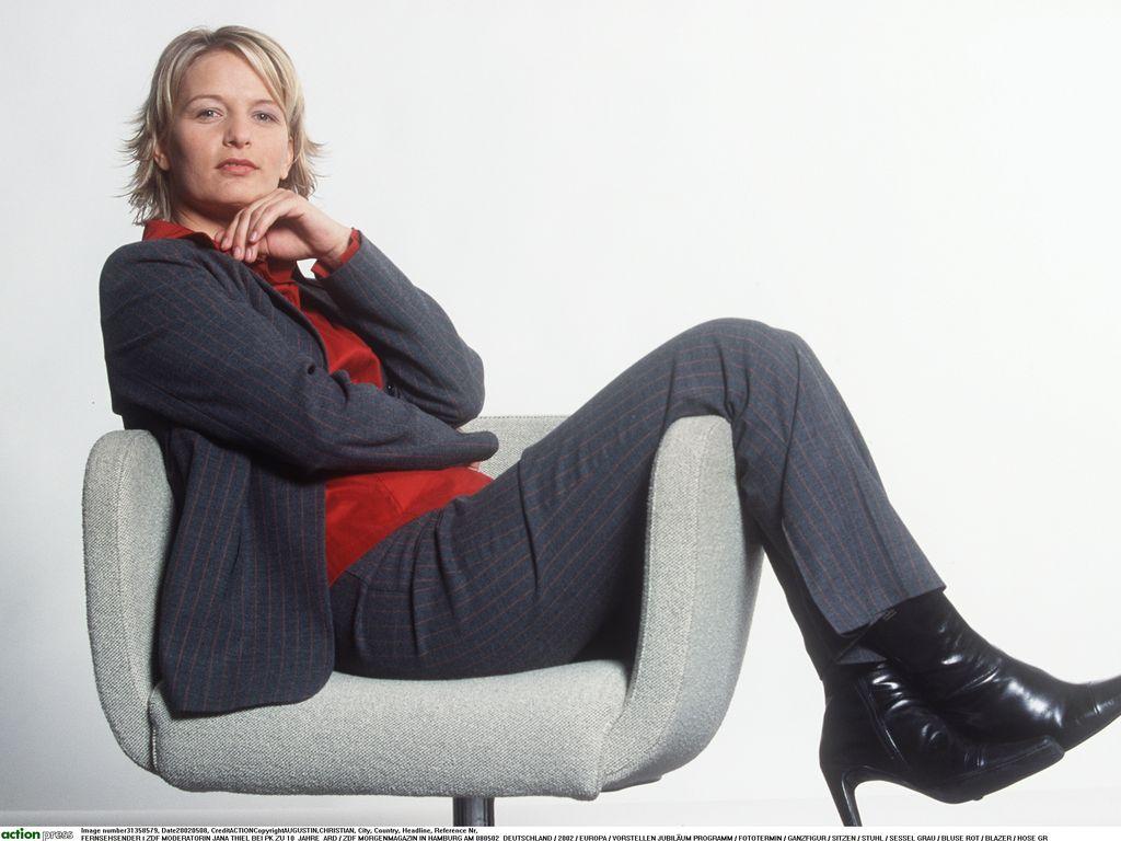 ZDF-Moderatorin Jana Thiel