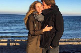 Alena Gerber und Clemens Fritz