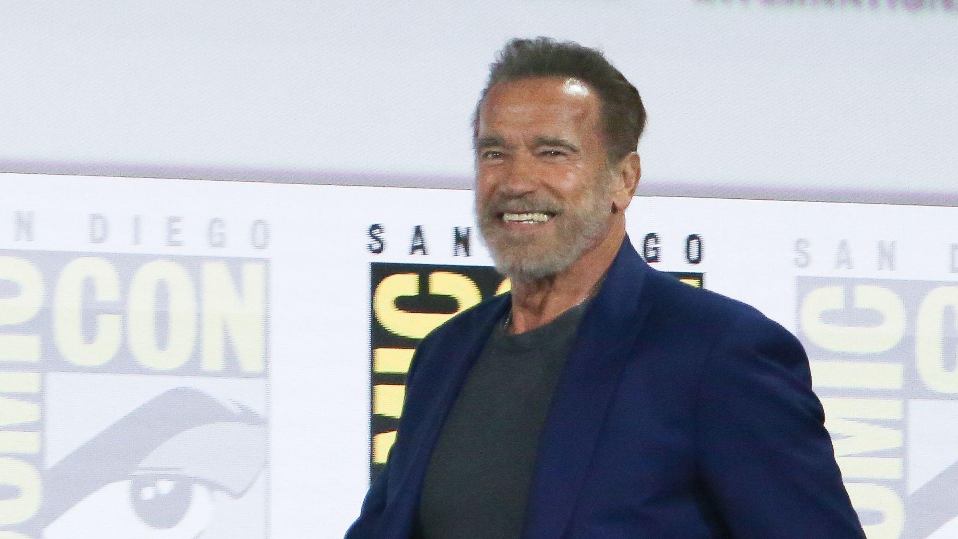 Arnold Schwarzenegger Herz Op