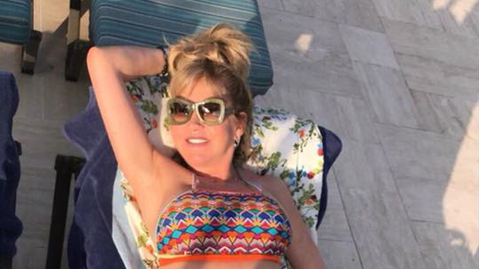 Sexy Bikini-Schnappschuss Carmen Geiss Als Scharfe -2740