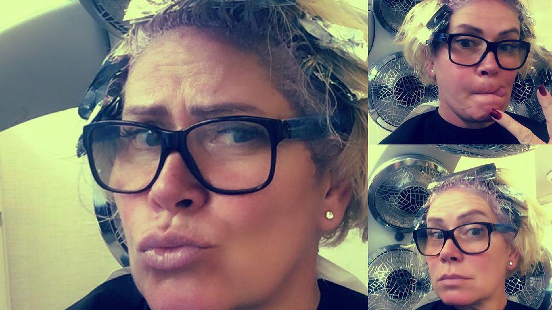 Claudia Effenberg Radikale Typveränderung Beim Friseur Promiflashde