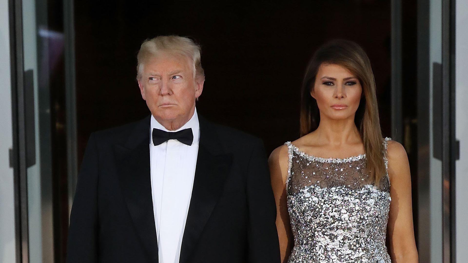 Donald & Melania Trump sind für Goldene Himbeere nominiert ...