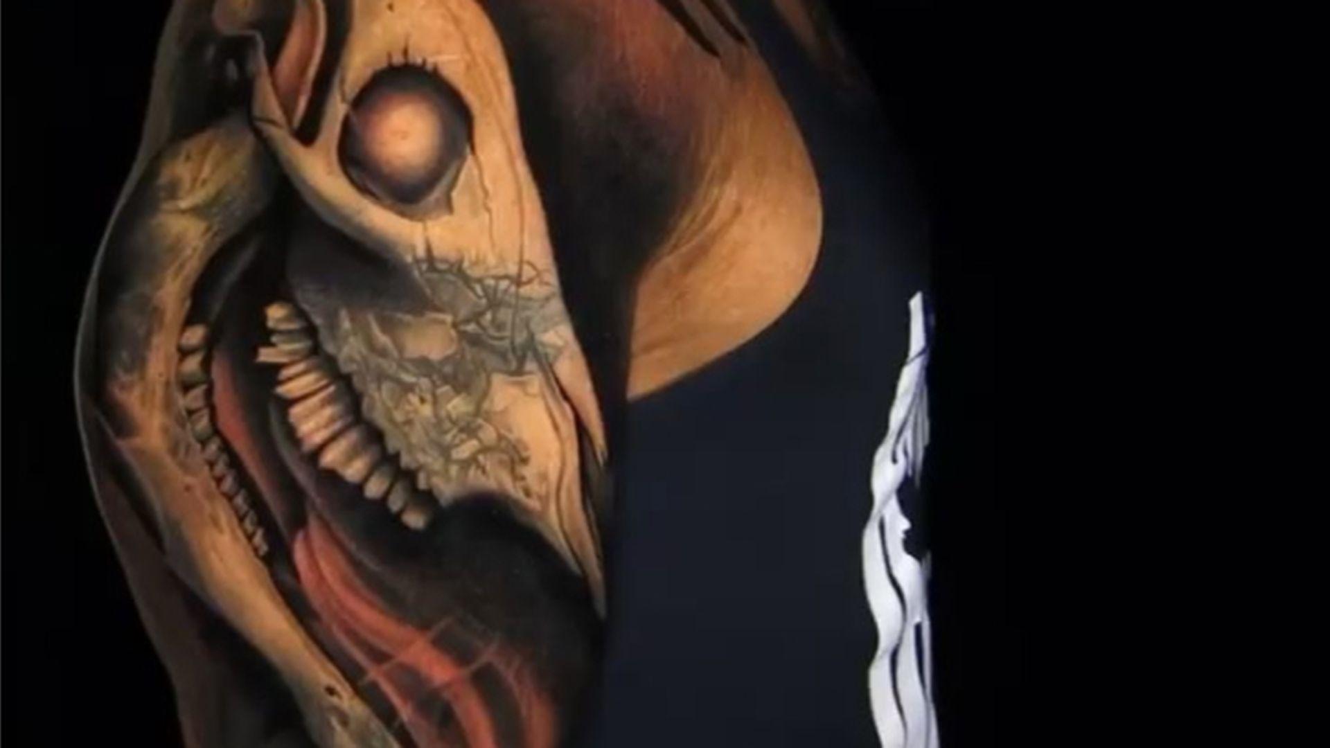 The Rocks Xxl Tattoo Ist Fertig Mit Besonderer Bedeutung