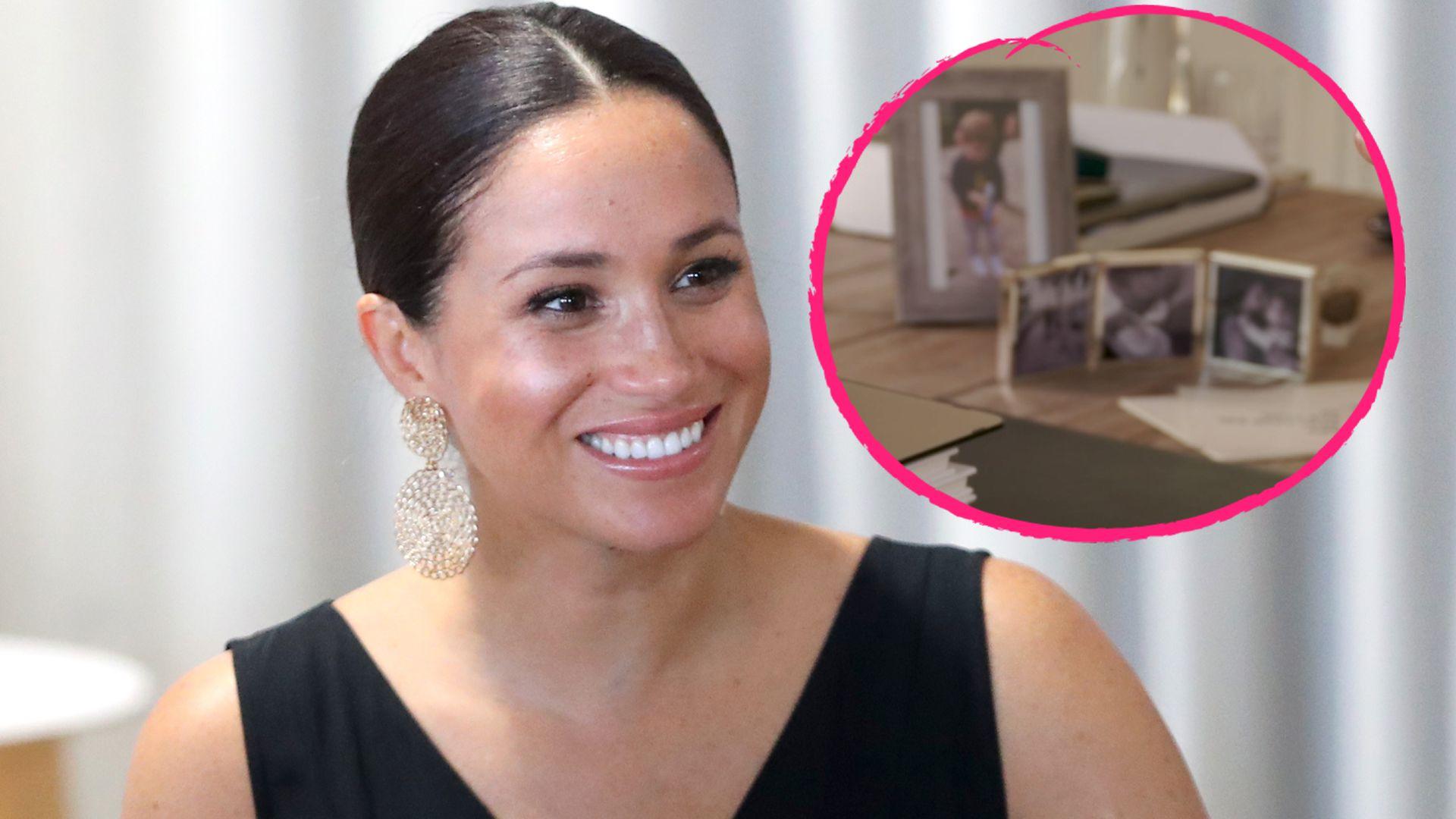 Familienfotos auf dem Tisch: Zeigt Meghan hier ihre Lilibet?