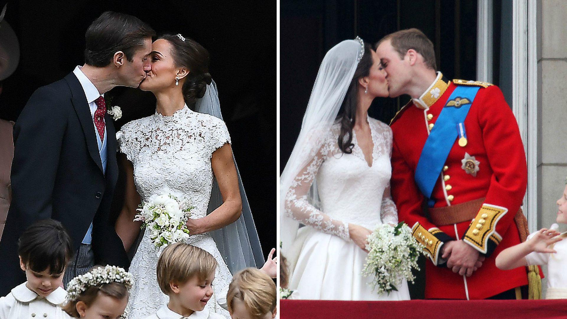 Wo ist der Pippa-Po? Brautkleid versteckte hübsche Kehrseite
