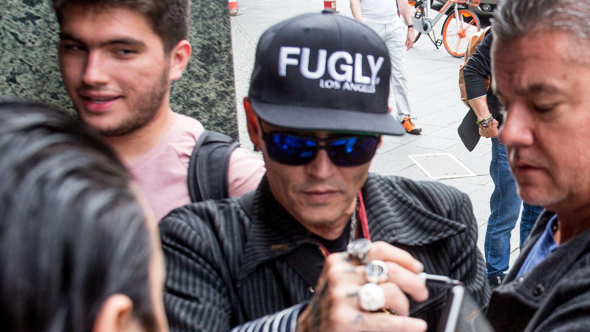 Sorge um Johnny Depp: Gewichtsverlust wegen Tour-Stress