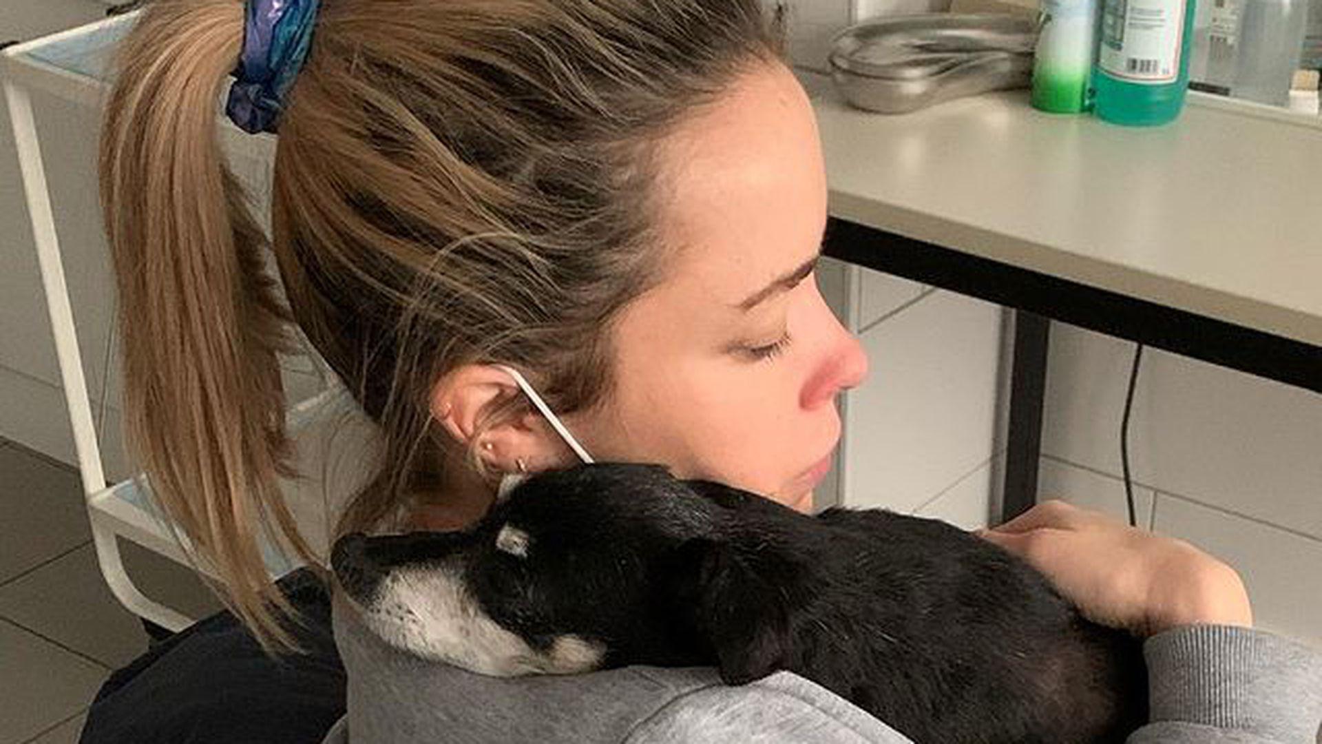 Nach Geburt der Tochter: Marina Hoermanseders Hund gestorben - Promiflash.de