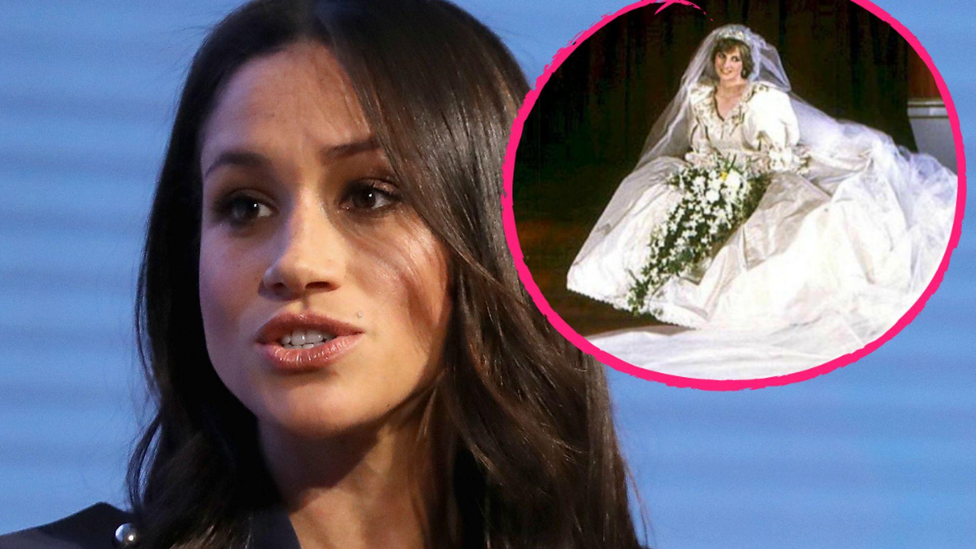 Brautkleid-Horror: Meghan vorsichtiger als Lady Diana? | Promiflash.de