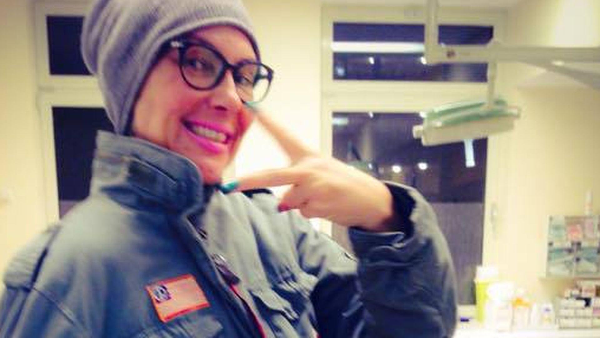 Autsch! Natascha Ochsenknecht präsentiert Gips-Arm