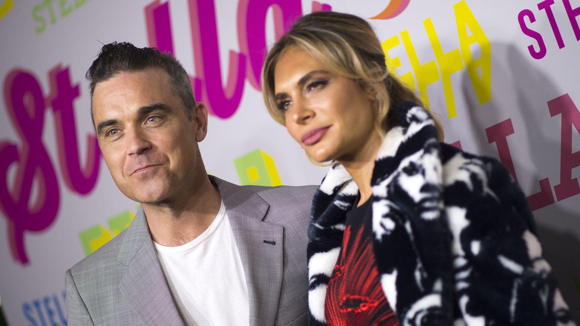 F 252 R Mega Gage Robbie Williams Amp Ayda Bald Bei Quot X Factor