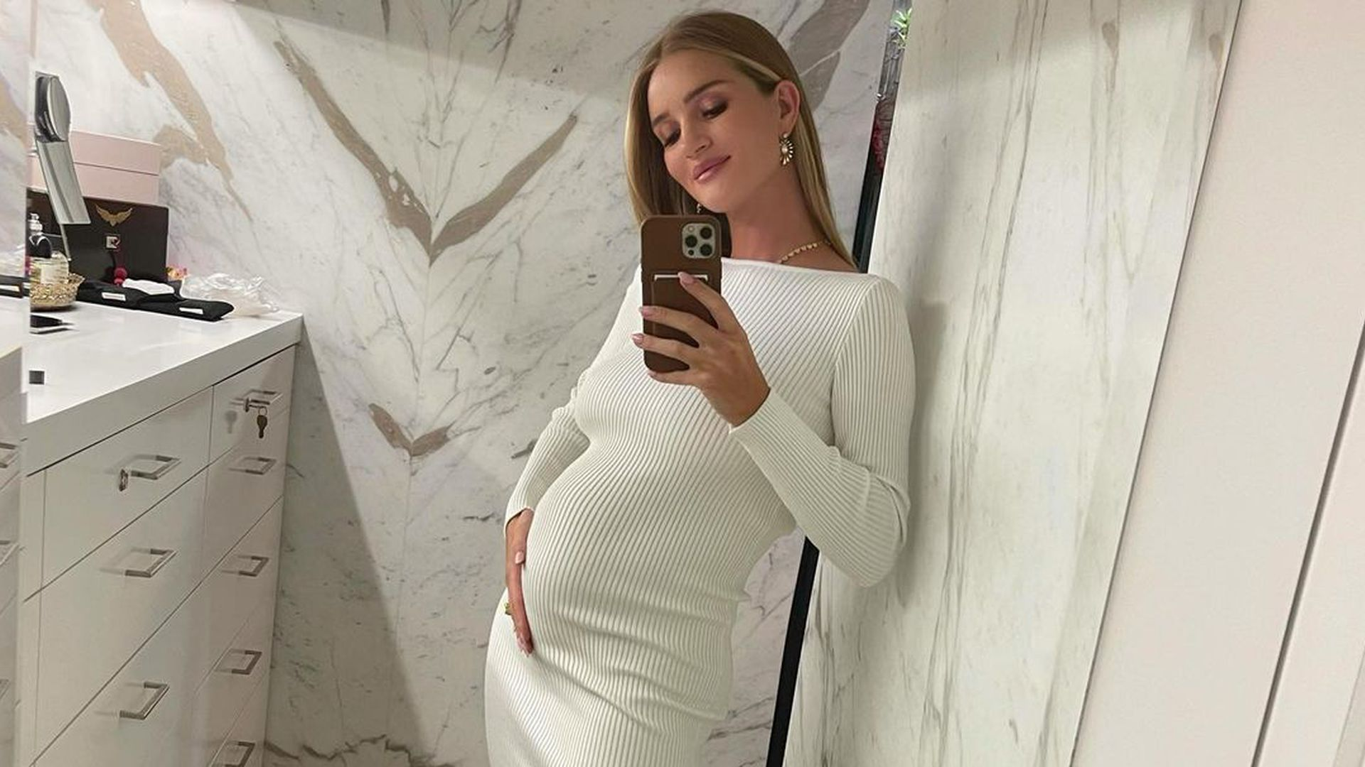 Second child: Rosie Huntington-Whiteley pregnant again