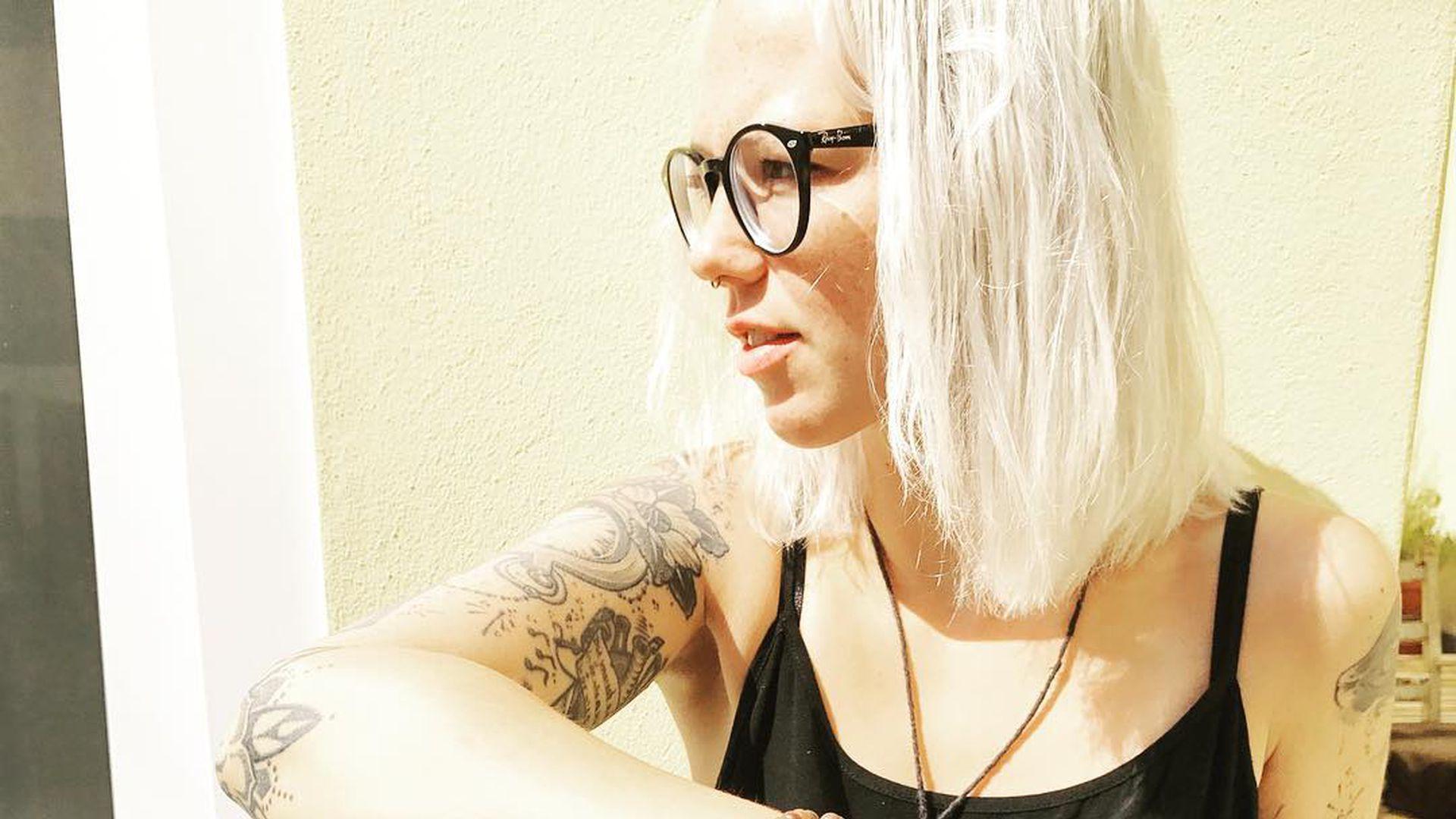 Kürzere Weiße Haare Das Ist Wirklich Stefanie Heinzmann