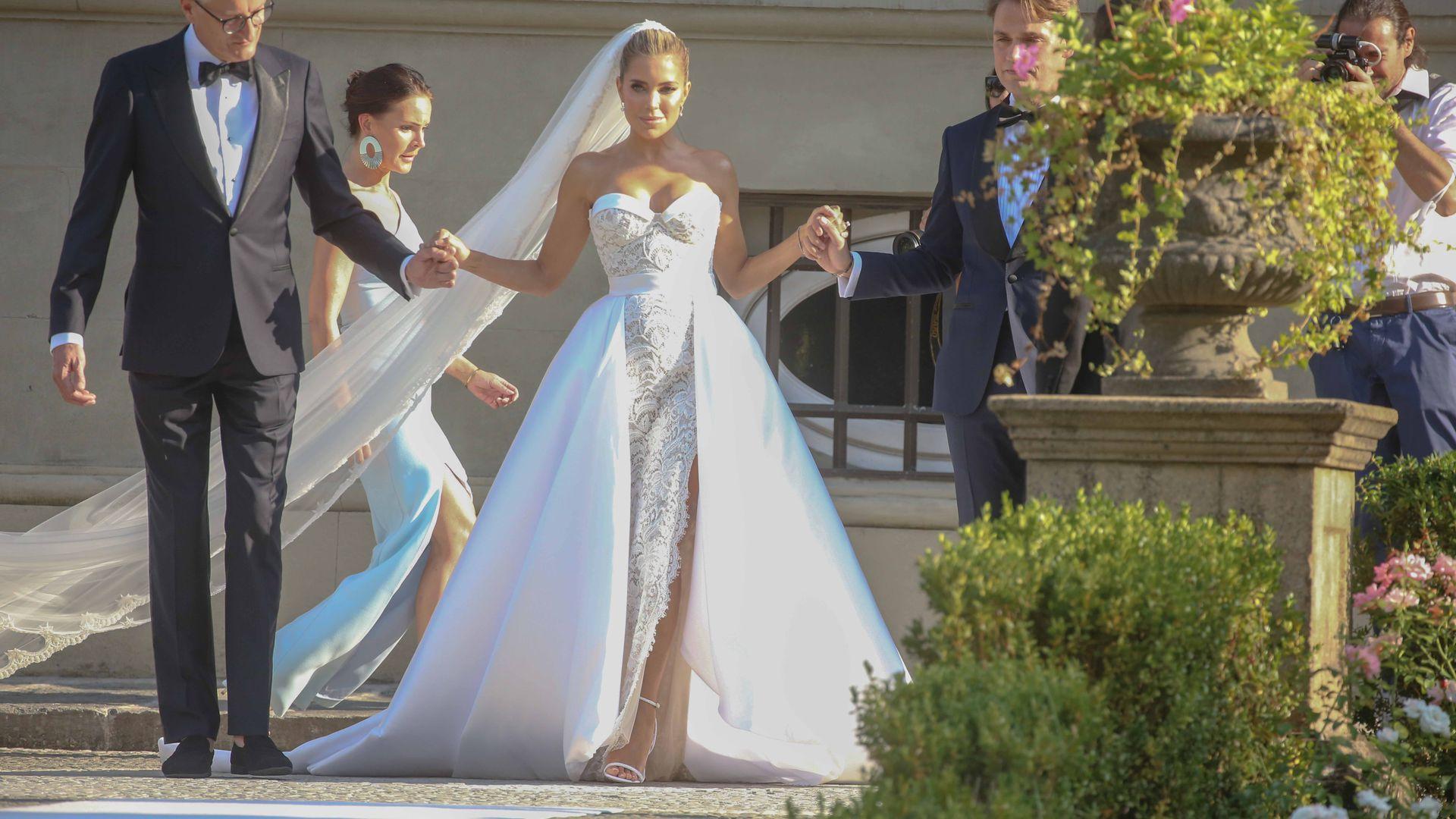 Sylvie Meis Kleid Hochzeit