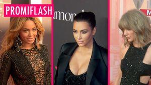 Taylor Swift, Kim Kardashian und Beyonce