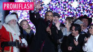 Letztes Weihnachtsfest als Präsident: Obama rührt mit Song!