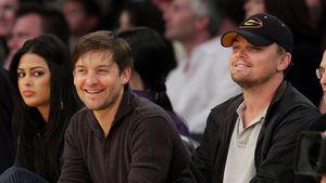 Tobey Maguire und Leonardo DiCaprio: Ein Männerabend beim Sp